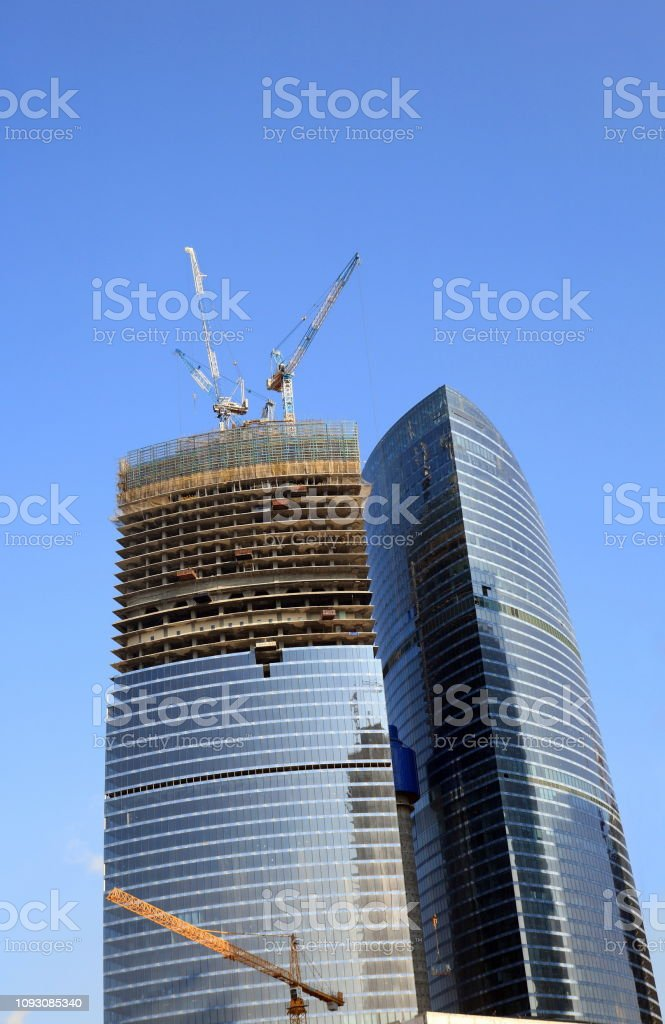 skyscraper develop stock photo