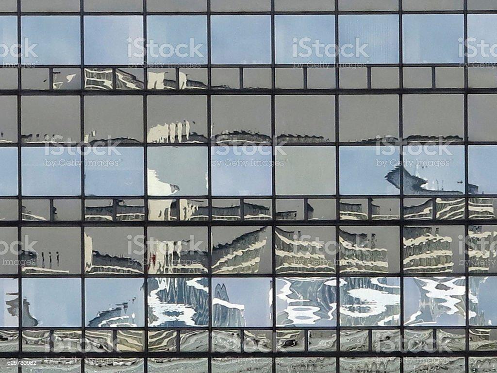 Skyscraper facade stock photo