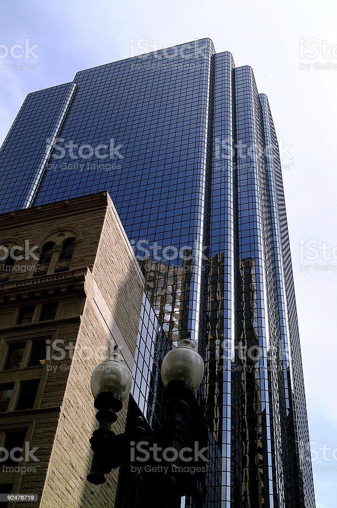 Skyscraper from Boston royalty-free stock photo