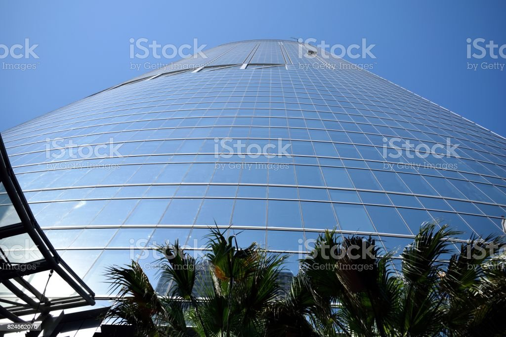 A Skyscraper from Down Below stock photo