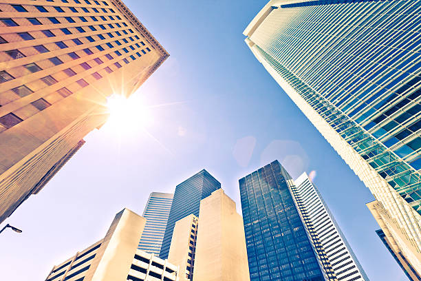 Wolkenkratzer in Houston – Foto