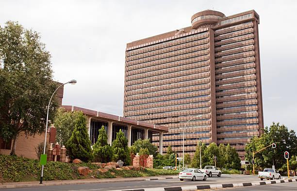 Skyscraper in Bloemfontein stock photo