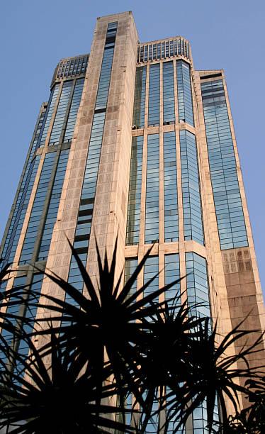 Skyscraper in Caracas stock photo