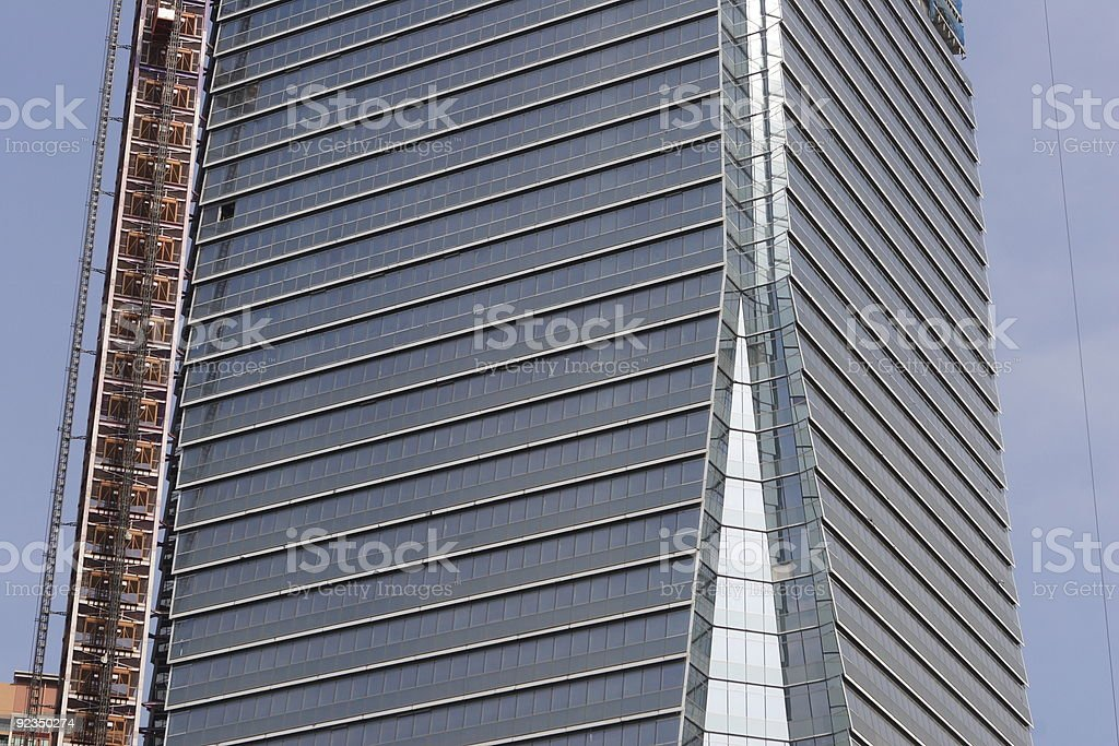 Skyscraper in Construction royalty-free stock photo
