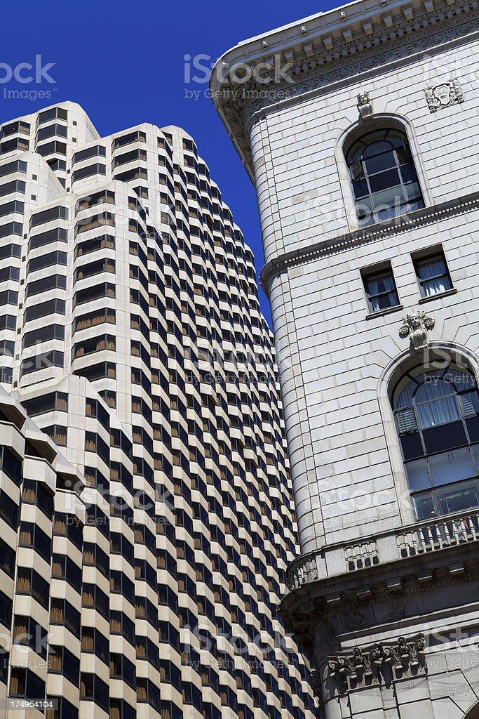 Skyscraper in San Francisco royalty-free stock photo