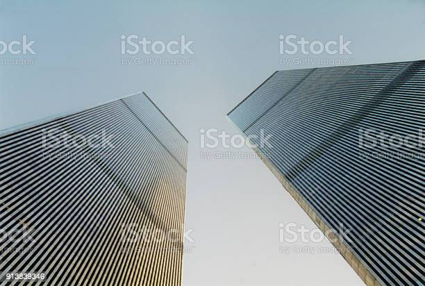 Skyscraper in the heart of the city of New York