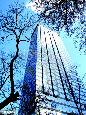 Skyscraper In Warsaw Stock Photo & More Pictures of 2015