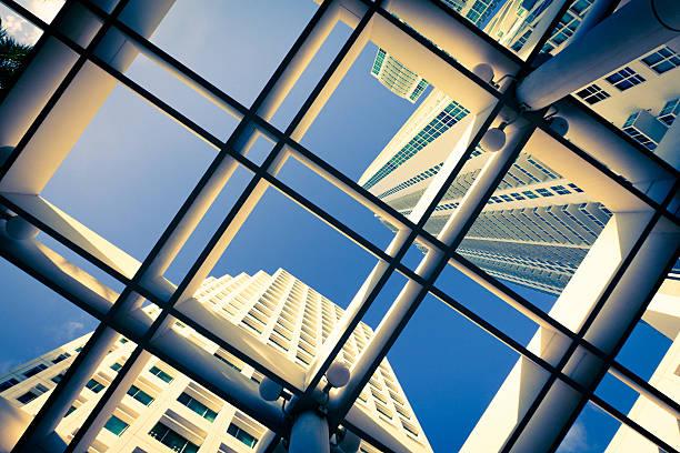 Wolkenkratzer in Miami – Foto