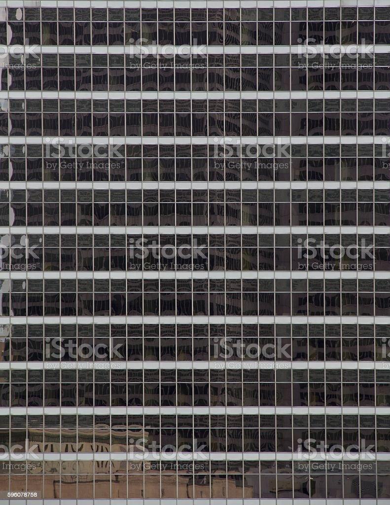 Skyscraper mirror windows royalty-free stock photo