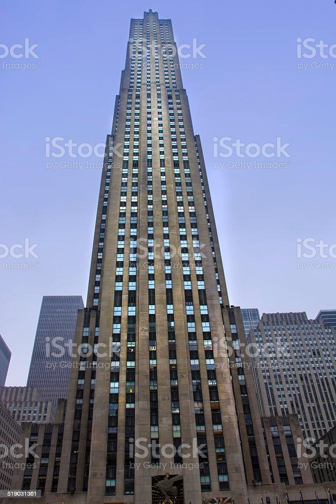 Skyscraper New York stock photo