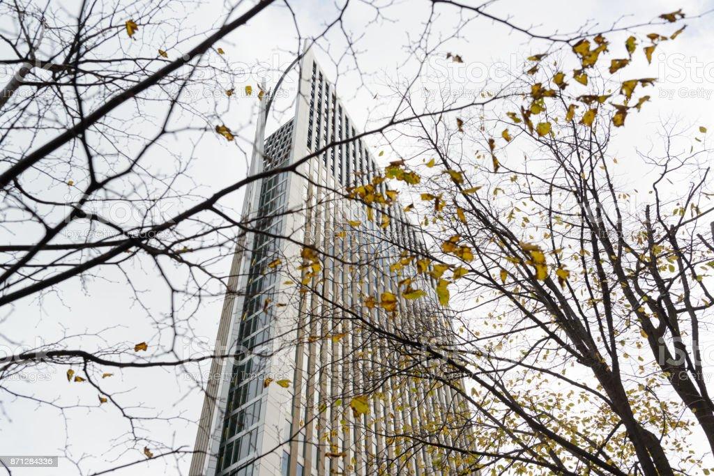 Wolkenkratzer eines Ministeriums in den Haag – Foto