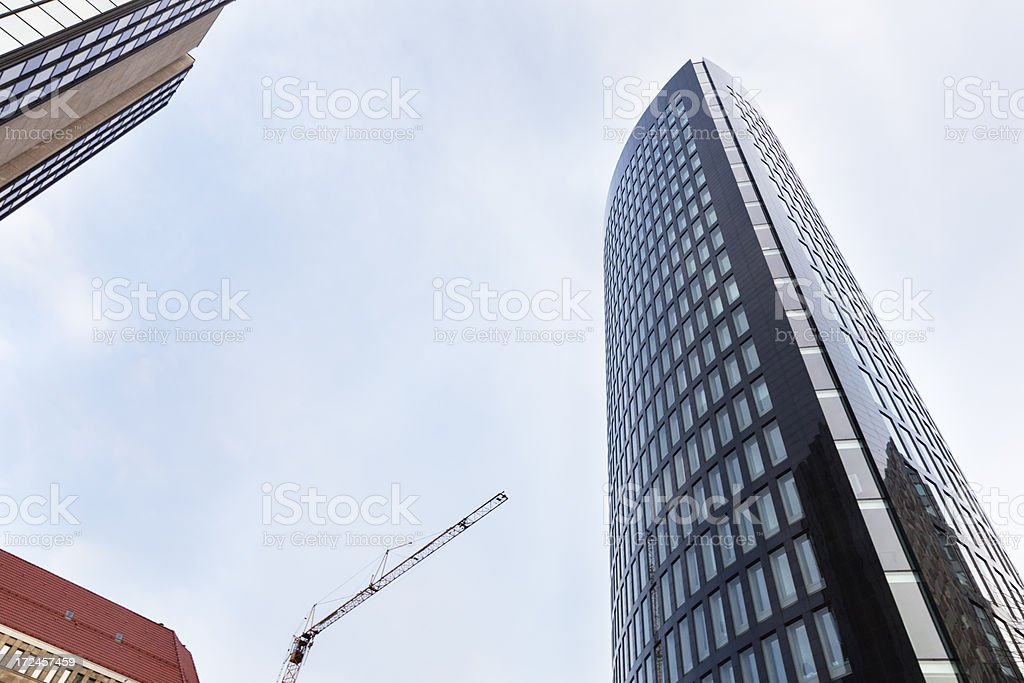 skyscraper office building royalty-free stock photo
