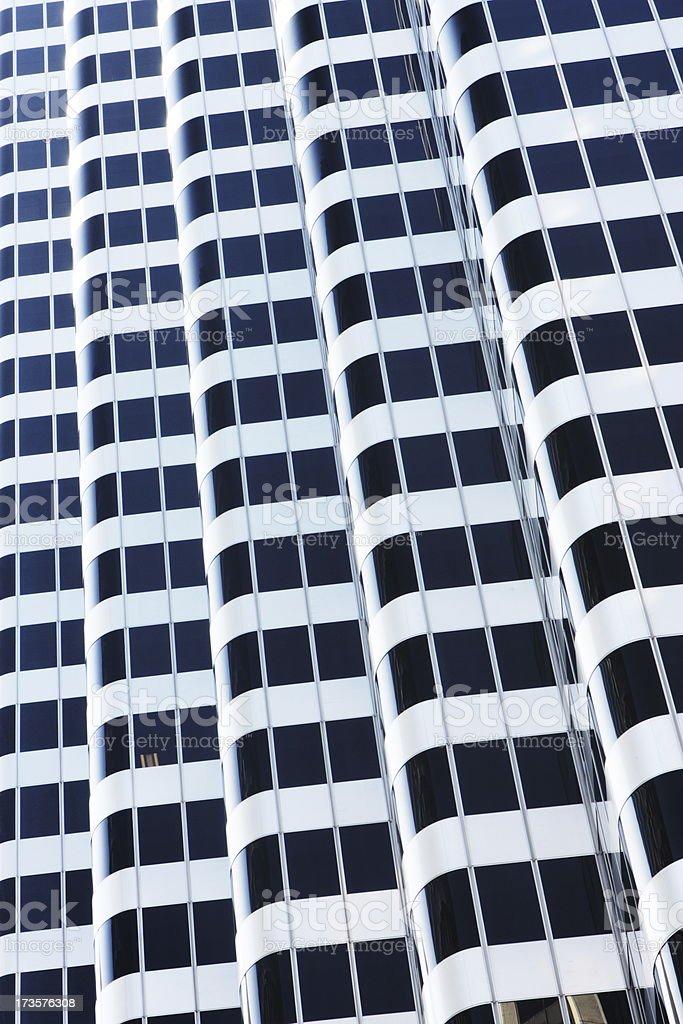 Skyscraper Office Building Window Facade royalty-free stock photo