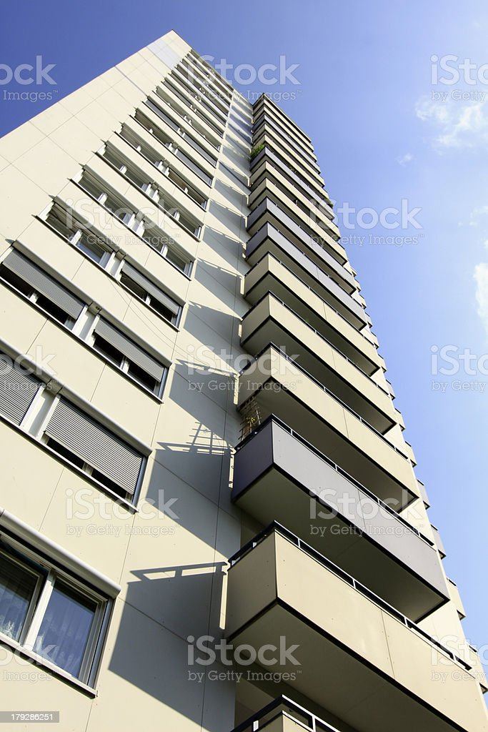 Hochhaus royalty-free stock photo