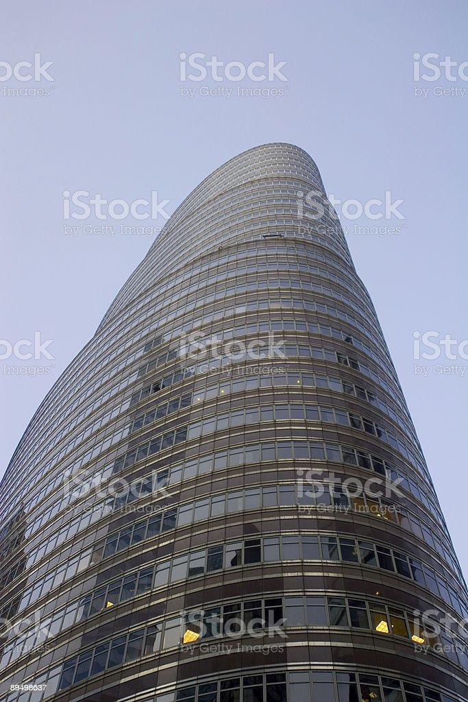 Grattacielo foto stock royalty-free