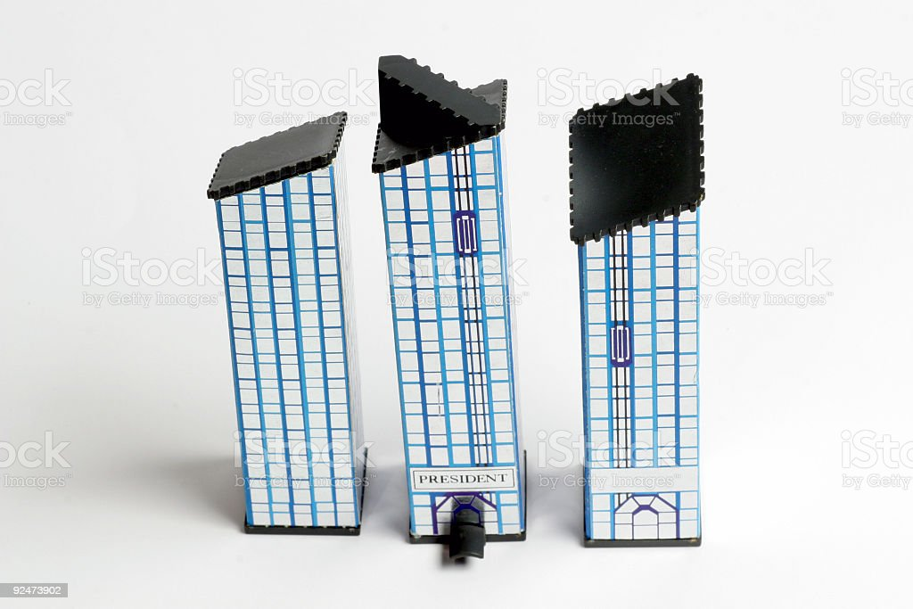 Wolkenkratzer Lizenzfreies stock-foto