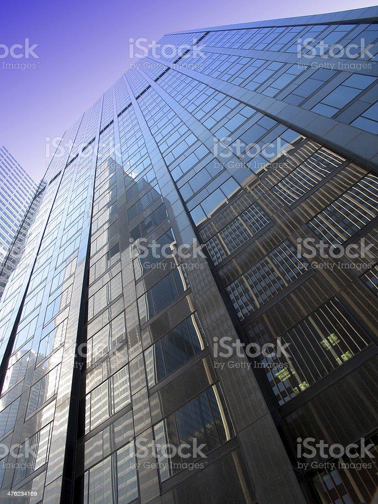 Skyscraper Reflection royalty-free stock photo