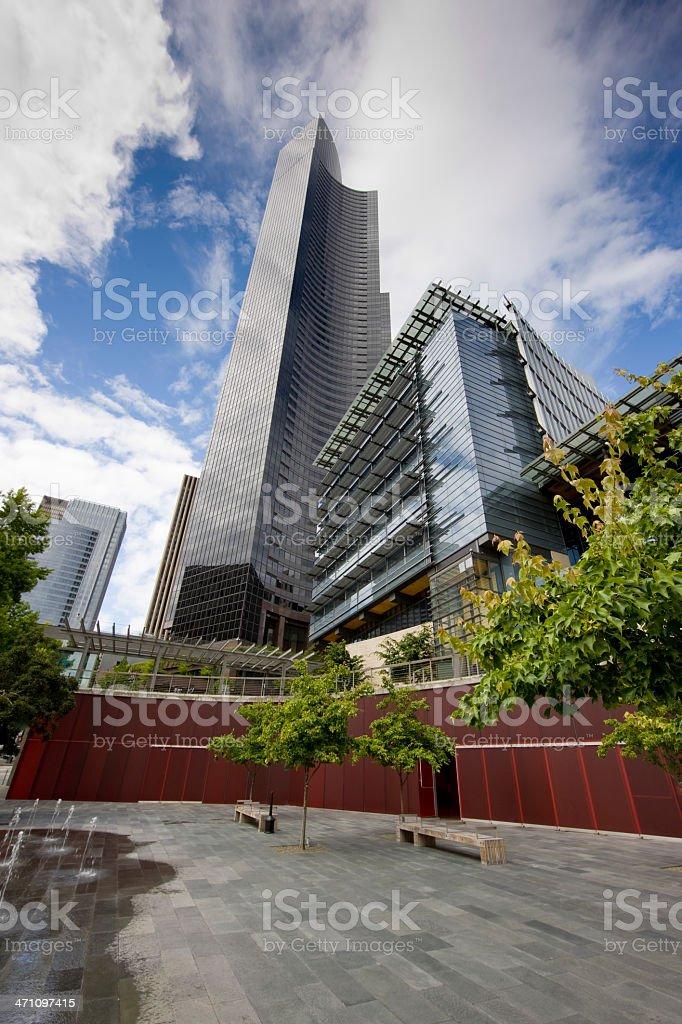 Skyscraper Seattle USA royalty-free stock photo