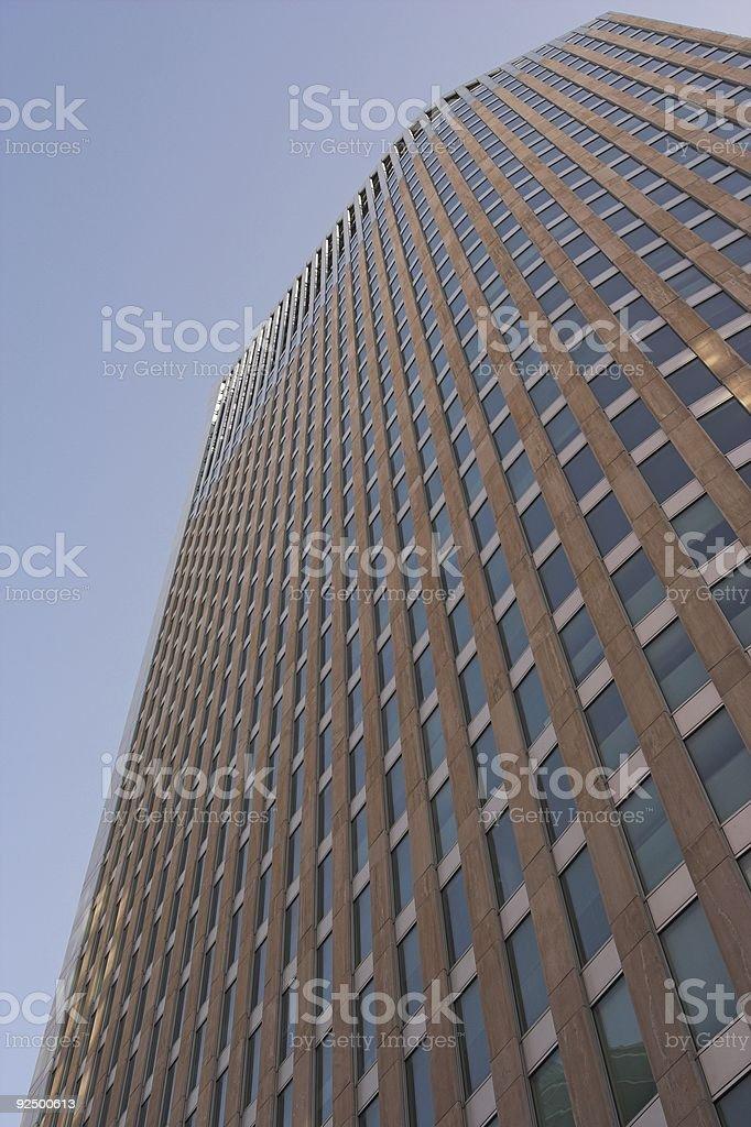 Skyscraper the Hague royalty-free stock photo