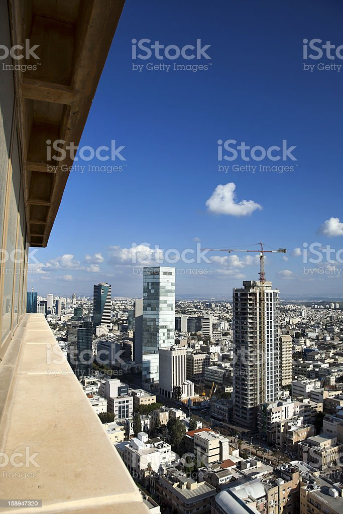 Skyscraper View royalty-free stock photo
