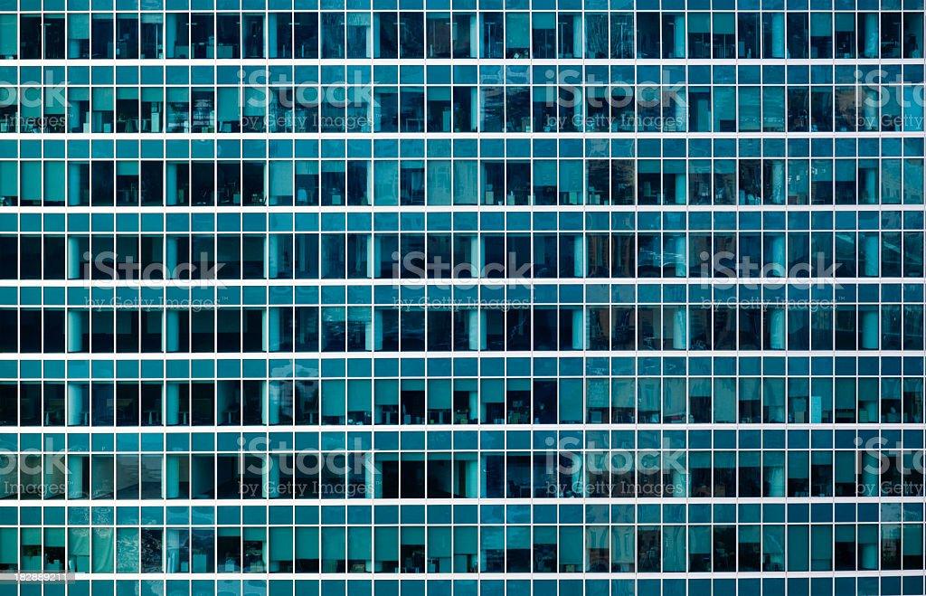 Skyscraper window background royalty-free stock photo