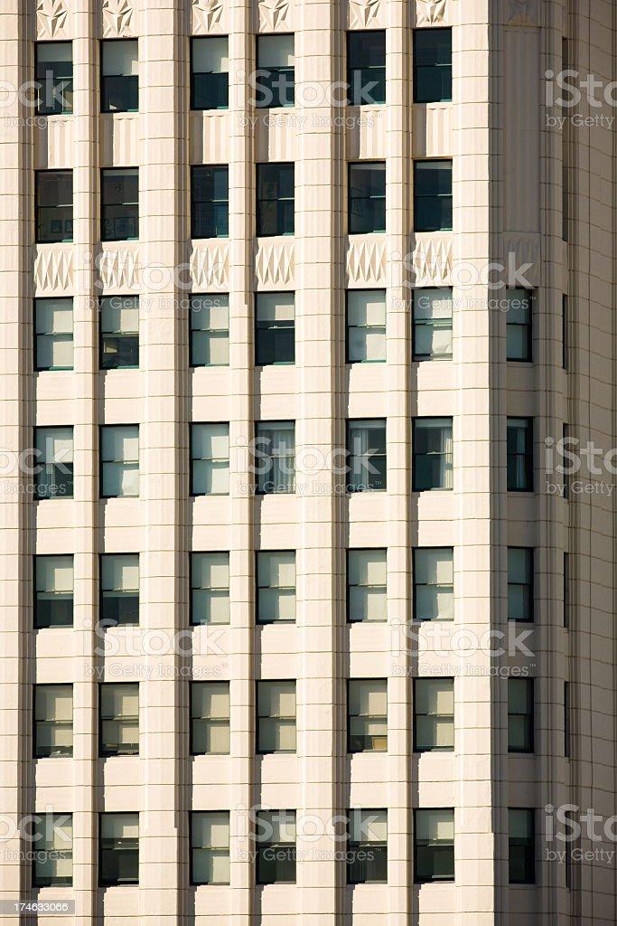 Skyscraper Windows royalty-free stock photo