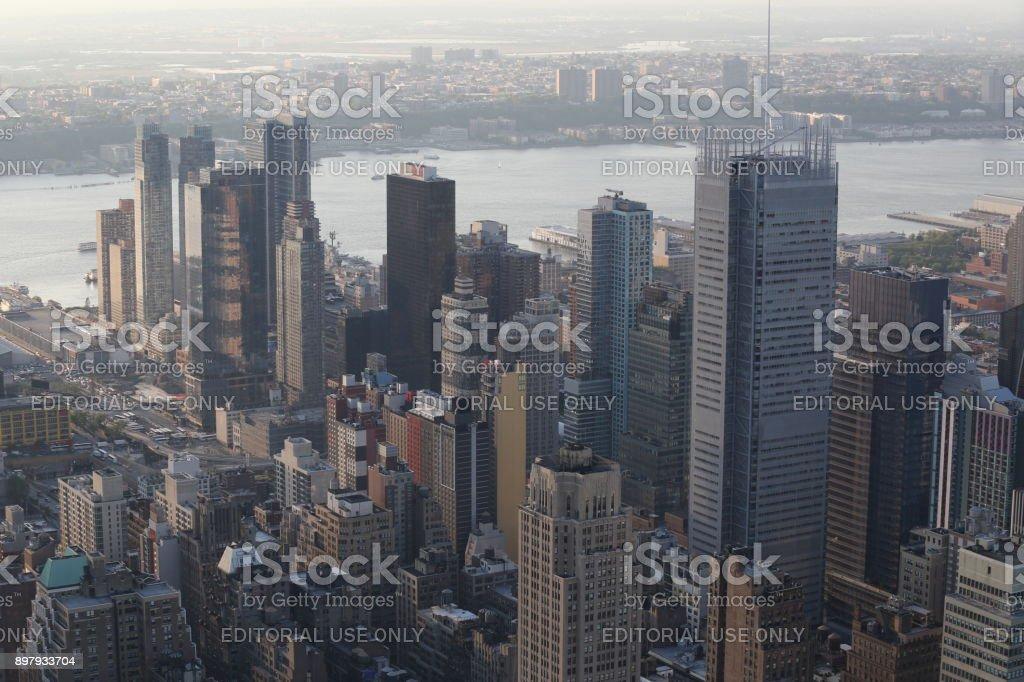Skyscrapercity. America, New York City - May 13, 2017 stock photo