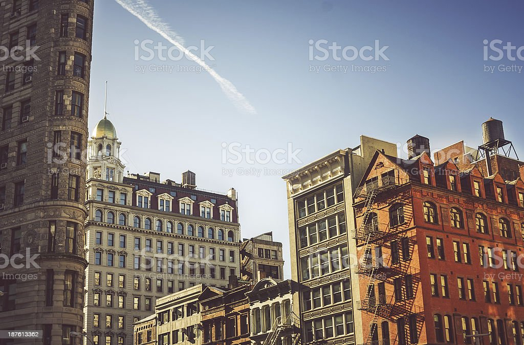 Skyscrapers and buildings of New York royalty-free stock photo