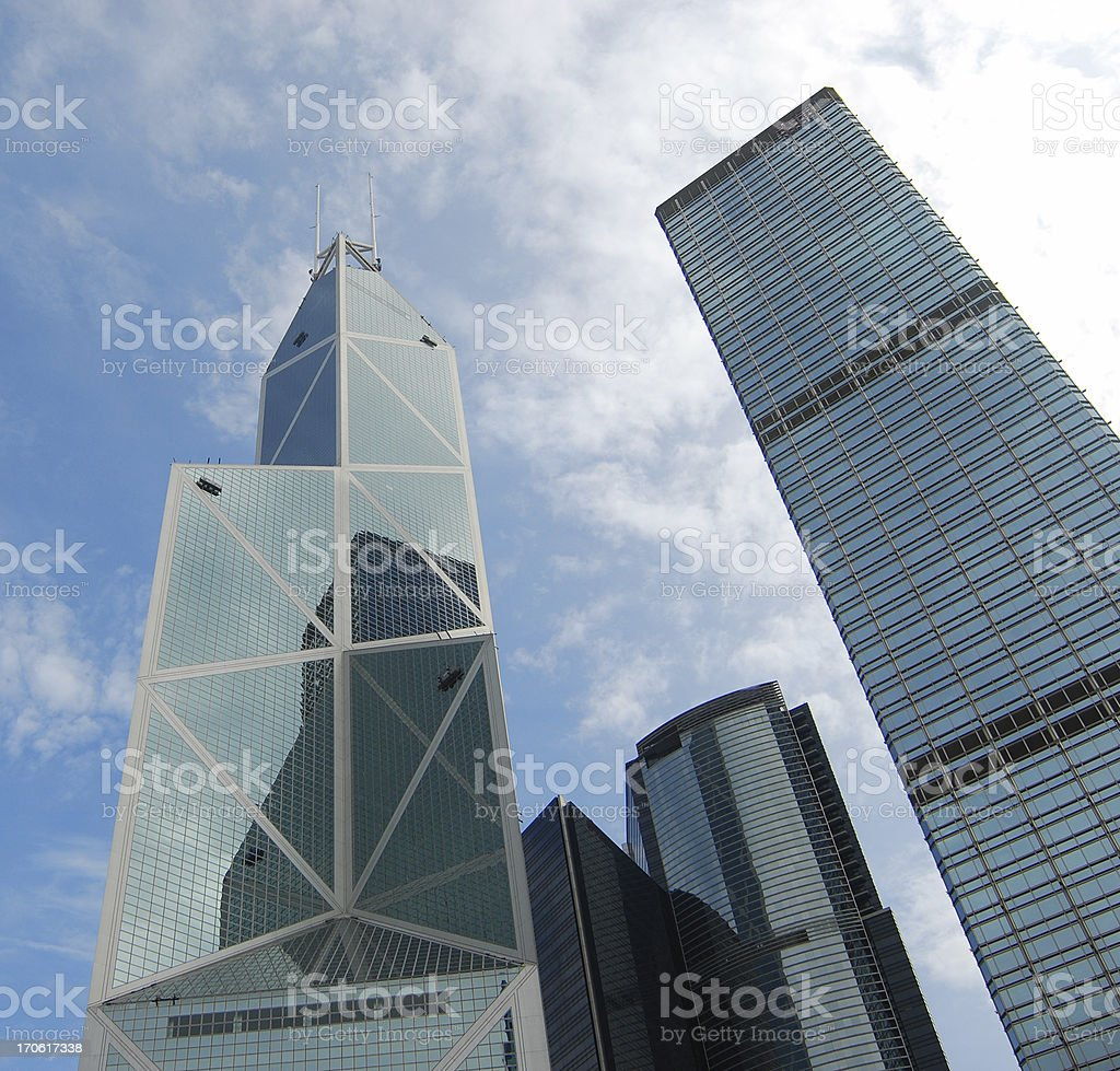HK Skyscrapers: Bank of China royalty-free stock photo