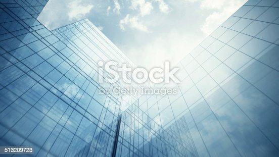 istock Skyscraper's exterior 513209723