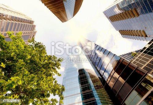 Skyscrapers, Downtown Atlanta, Georgia, USA.