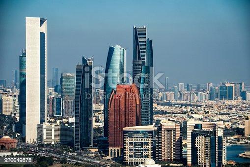 517465184 istock photo Skyscrapers in Abu Dhabi 926649878