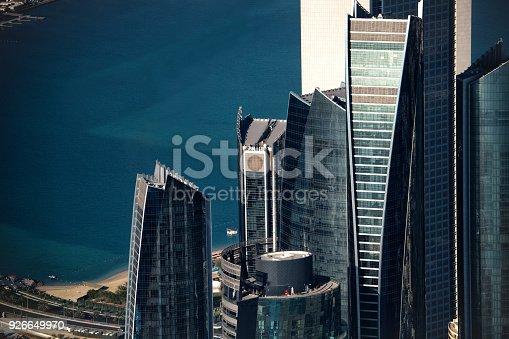 517465184 istock photo Skyscrapers in Abu Dhabi 926649970