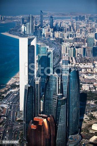 517465184 istock photo Skyscrapers in Abu Dhabi 926649986