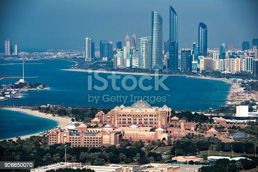 517465184 istock photo Skyscrapers in Abu Dhabi 926650070