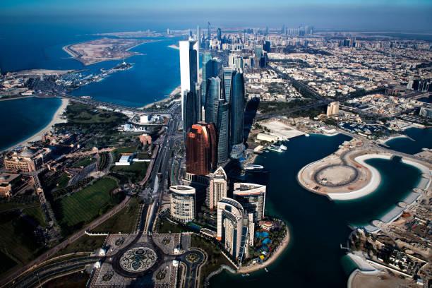 Wolkenkratzer in Abu Dhabi – Foto