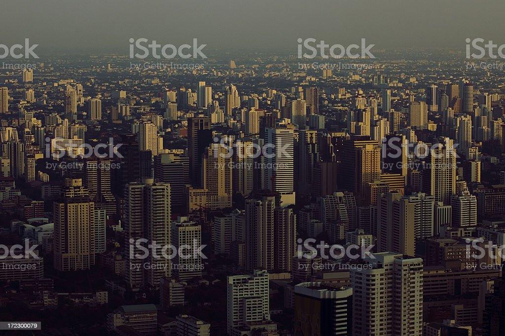 skyscrapers in Bangkok royalty-free stock photo
