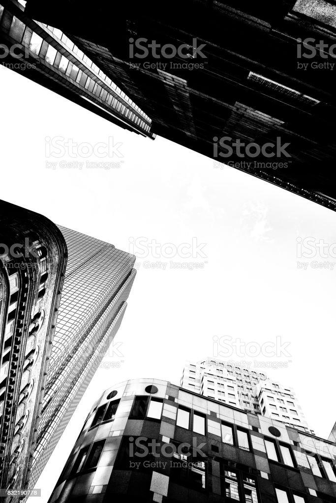 Skyscrapers in Boston,Massachusetts, USA, stock photo