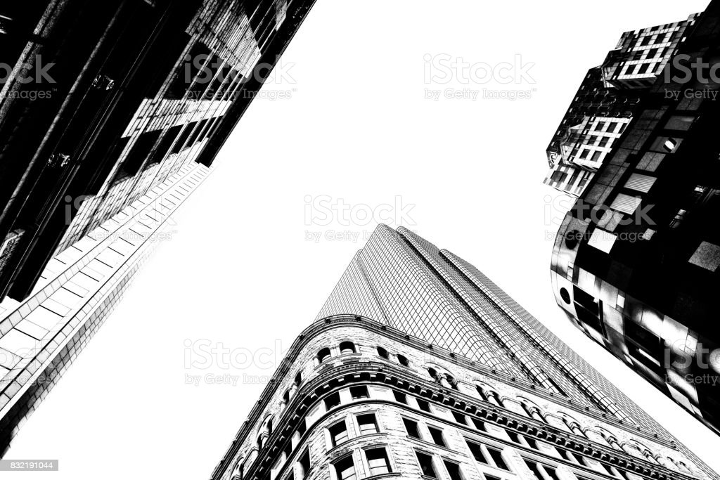 Skyscrapers in Boston,Massachusetts, USA, stock photo