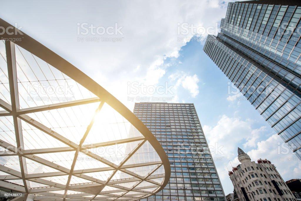 Gratte-ciel de la ville de Bruxelles - Photo