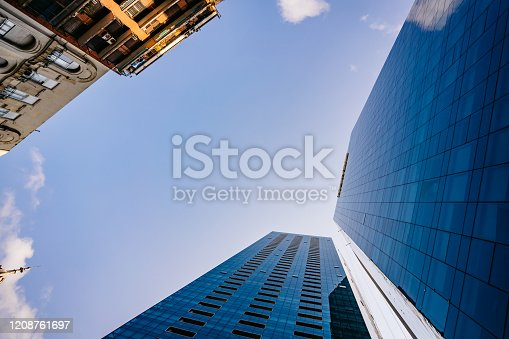 490774222 istock photo Skyscrapers in Buenos Aires 1208761697