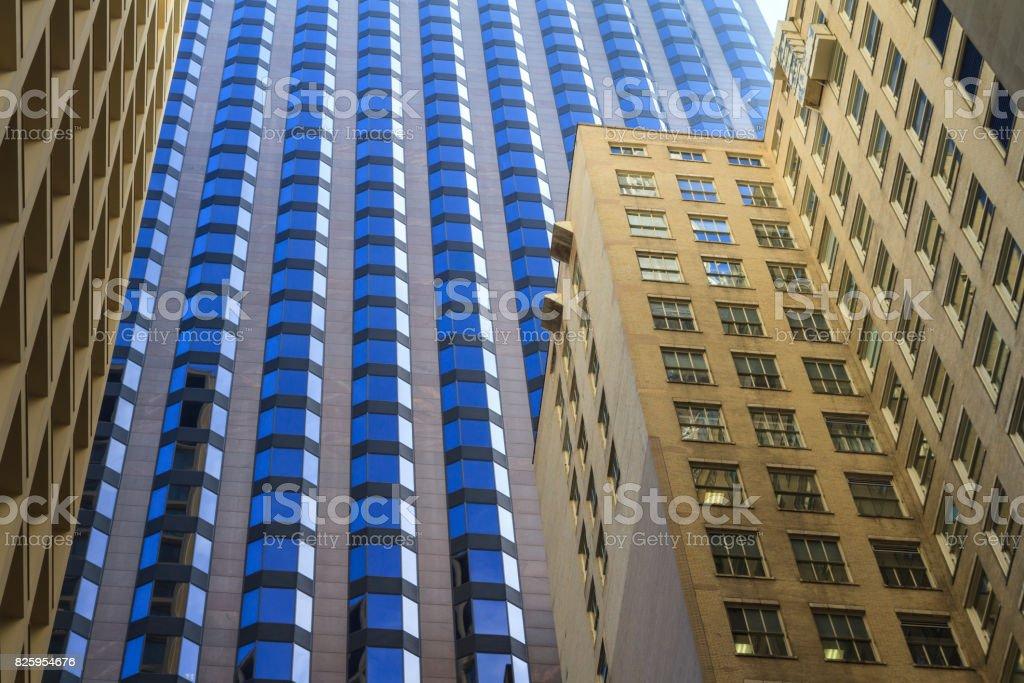 Skyscrapers in Chicago stock photo