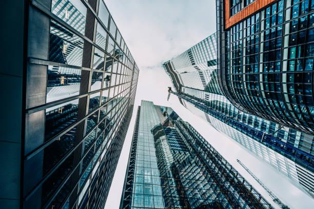 Wolkenkratzer im Finanzviertel – Foto