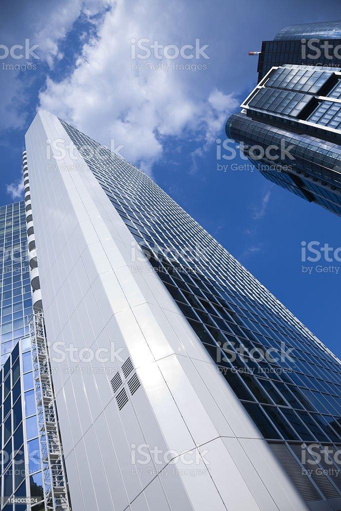 Skyscrapers in Frankfurt/Main, Germany royalty-free stock photo