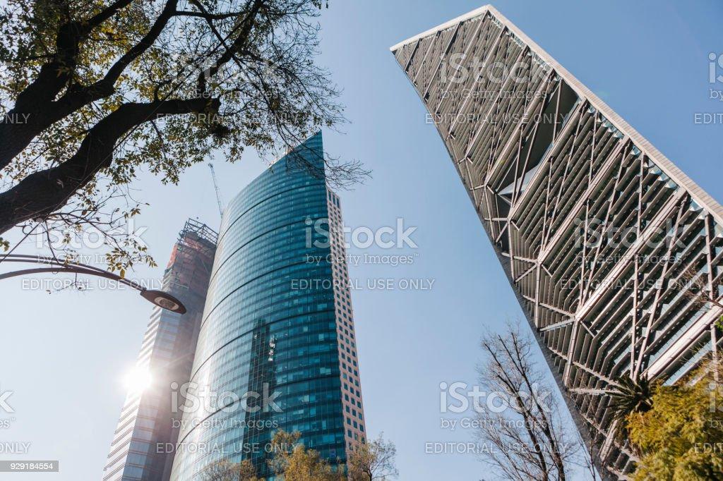 Bauwerk in Mexiko-Stadt – Foto