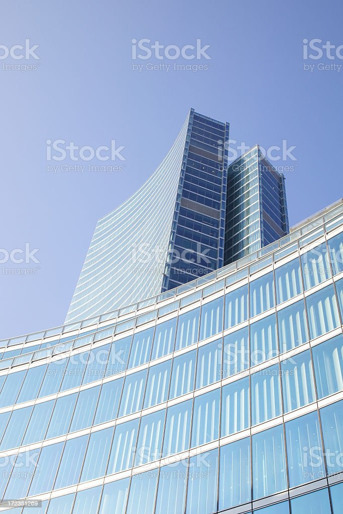 Skyscrapers In Milan royalty-free stock photo