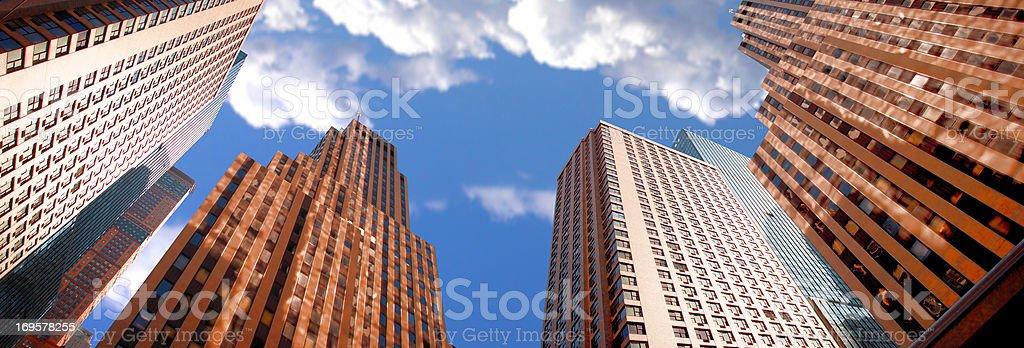 Wolkenkratzer in New York – Foto
