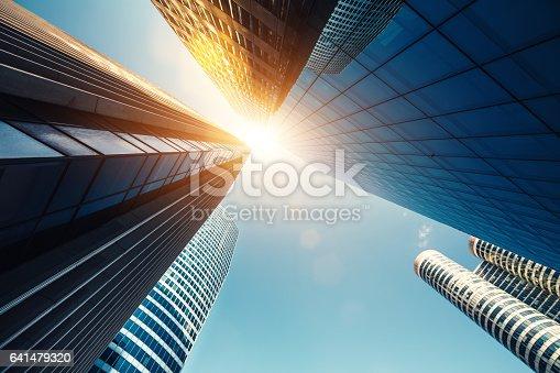 istock Skyscrapers In Paris 641479320