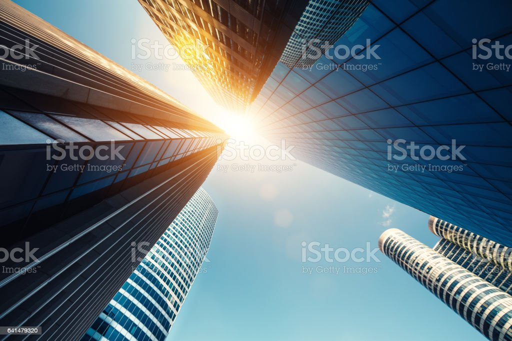 Skyscrapers In Paris stock photo
