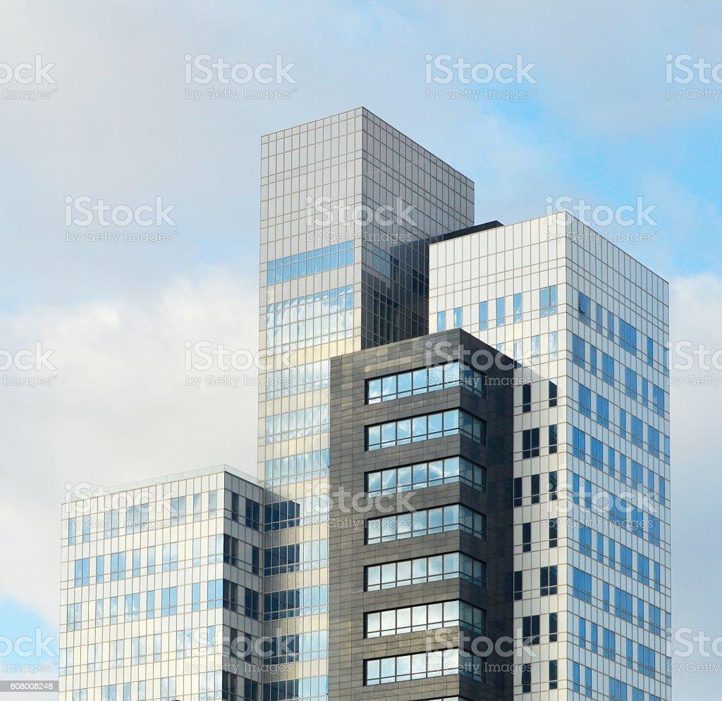 Skyscrapers in Tel Aviv, Israel stock photo